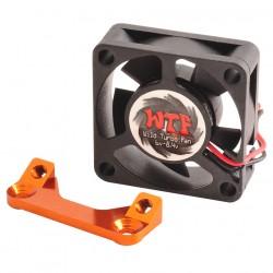Fan Mount with WTF Fan 30mm Orange