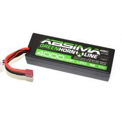 LiPo 11.1V-45C 4000 Hardcase (T-Plug)