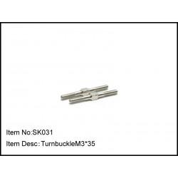 TURNBUCKLE M3*35
