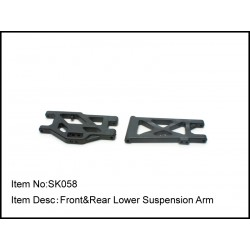 FRONT & REAR LOWER SUSPENSION ARM