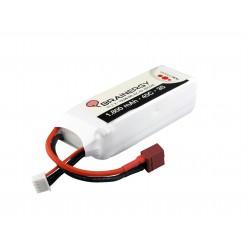 BRAINERGY LiPo 3s1p 11,1V 1.800mAh 45C med Deans T-Plug