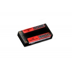 Lipo SHORTY 7,4V-110C 3800 18,5mm HC 4mm tubes