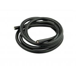 Silikonkabel 6mm² x 1.000mm svart