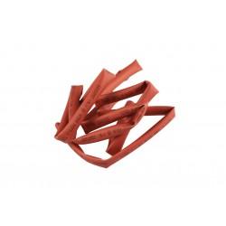 Krympslang Ø6mm x 1m röd