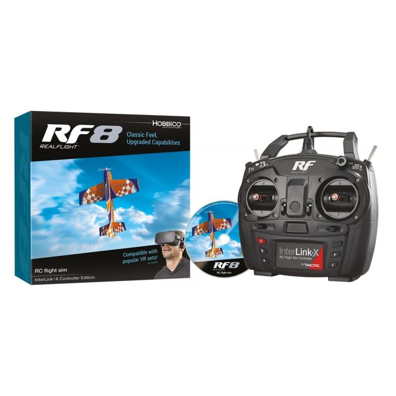 RealFlight 8 - med Interlink-X Controller