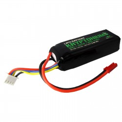 KRYPTONIUM LiPo battery 3s1p 11.1V 800mAh 30C JST BEC