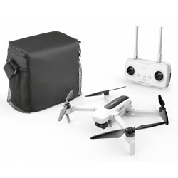 Hubsan Zino FPV Hopfällbar, GPS, 4K UHD, Image Tracking, RTF, 2xbatteri, väska